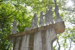 ほりぬき公園のシンボル像