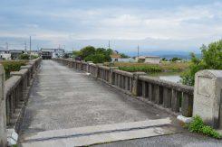 天野川にかかる朝妻橋