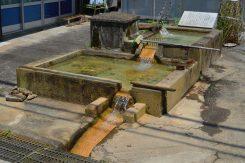 世継集落には「かなぼう」と呼ばれる鉄分を含んだ鉱泉が湧き出ている場所が数カ所ある