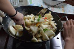 「なかご」の味噌煮