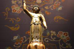 金銅誕生釈迦仏立像(重要文化財)